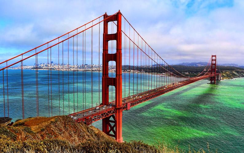 10 fakta du antagligen inte visste om Golden Gate-bron