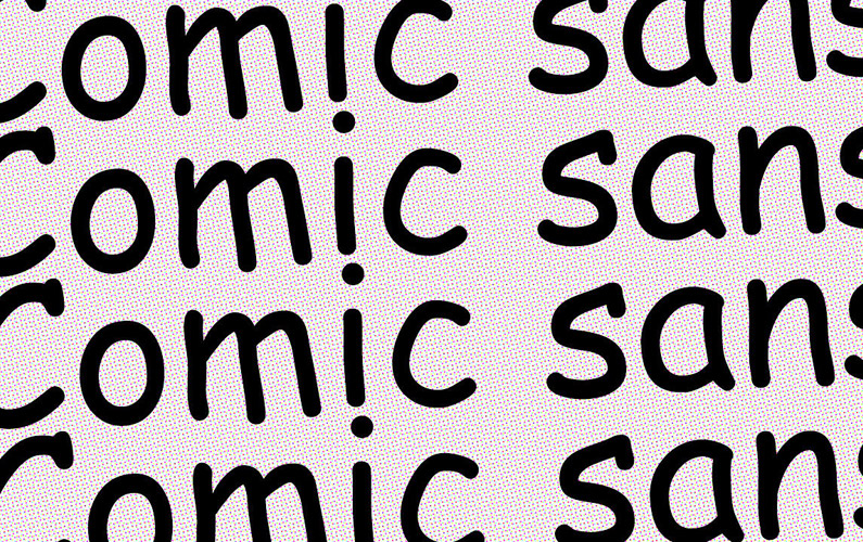 10 fakta du antagligen inte visste om fonten Comic Sans