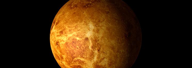 Venus rotation runt sin egen axel