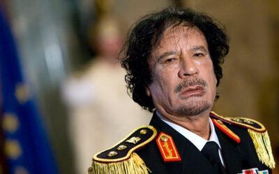 10 fakta du antagligen inte visste om Muammar Gaddafi