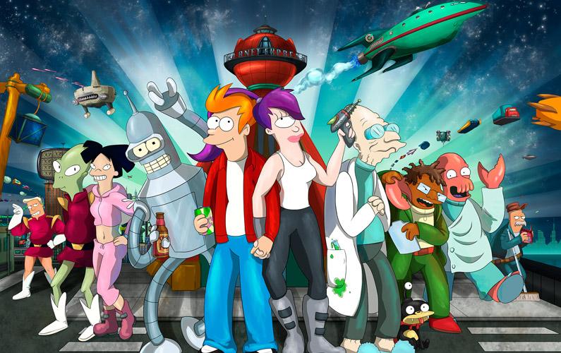 Futurama är en amerikansk animerad science fiction-situationskomediserie skapad av Matt Groening (skapare av Simpsons) och David X. Cohen.