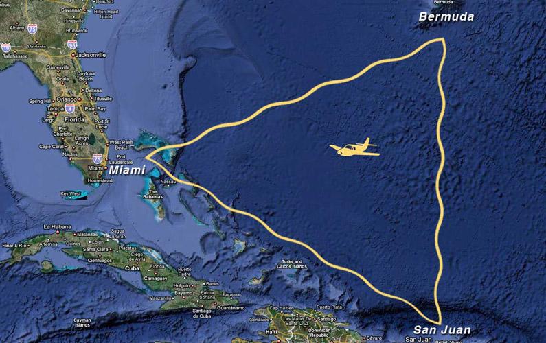 Bermudatriangeln är en region i den västra delen av norra Atlanten som fått fokus för flera mystiska försvinnanden av farkoster och fartyg.