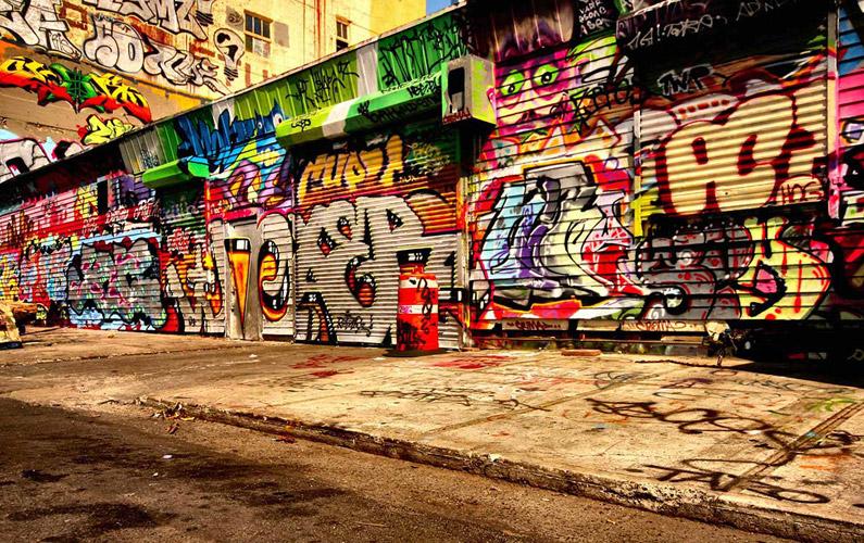 10 fakta du antagligen inte visste om graffiti