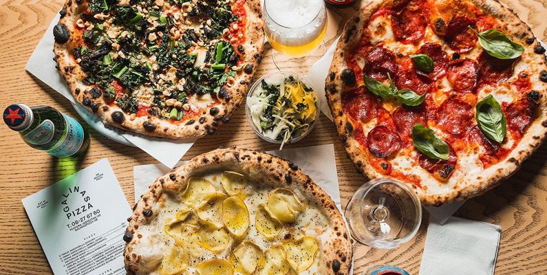 Förr åt den neapolitanska befolkningen i princip endast vattenmelon till sommaren och pizza under vintern.
