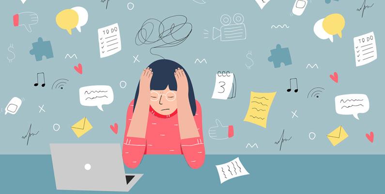 ojämn hjärtrytm stress