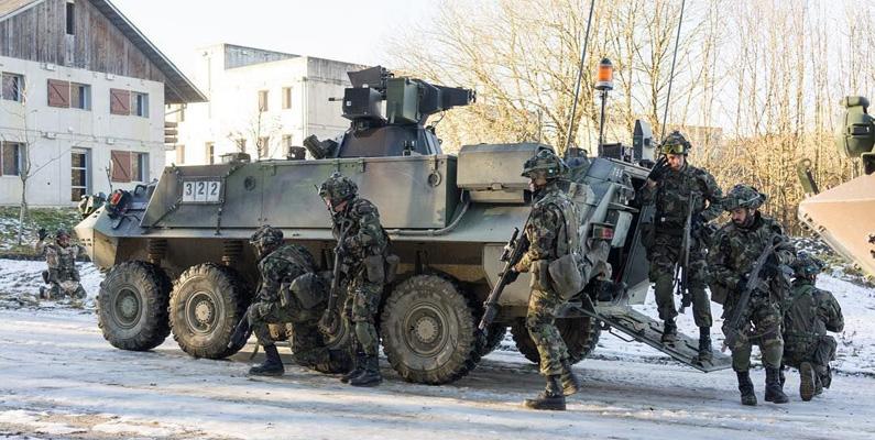 Schweiz armé invaderade grannlandet Liechtenstein - av misstag.