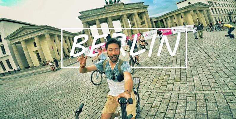 Cirka 14% - det vill säga en halv miljon invånare - i Berlin härstammar från något annat land än Tyskland. Hela 185 olika nationer finns samlade i huvudstaden!