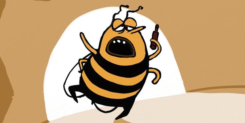 Precis som vi människor älskar även honungsbin att dricka sig berusade. Dock kan det leda till döden om de gör det under arbetstid.