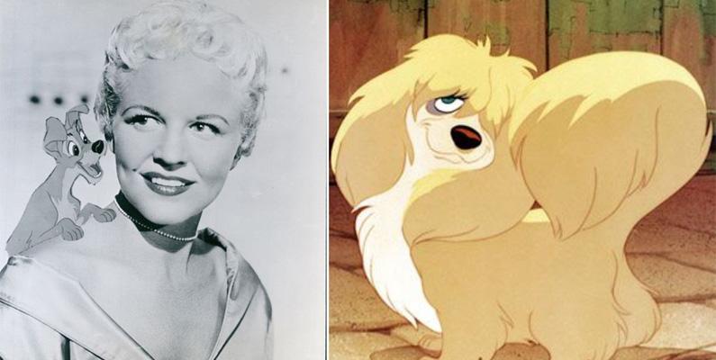 Sångerskan och röstskådespelerskan Peggy Lee stämde Walt Disney på 25 miljoner dollar 1988 för utebliven royalties.