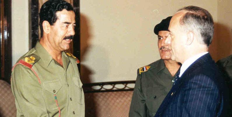 Endast tio personer har fått nycklarna till den amerikanska staden Detroit - Saddam Hussein var en av dessa!