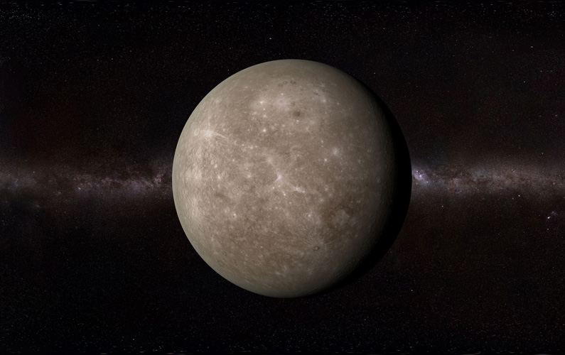 Merkurius är den innersta och minsta planeten i solsystemet, vilket innebär att det är den planet som ligger närmast solen.