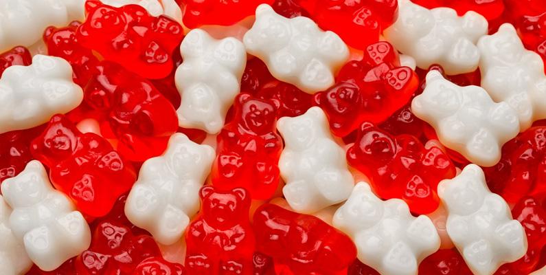 Det hör inte alls till ovanligheten att män ger gummibjörngodis istället för choklad till kvinnorna