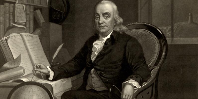 Benjamin Franklin publicerade en ledare i en tidning som sade att USA:s befolkningstillväxt var så snabb att den skulle överträffa Storbritannien inom loppet av 100 år.
