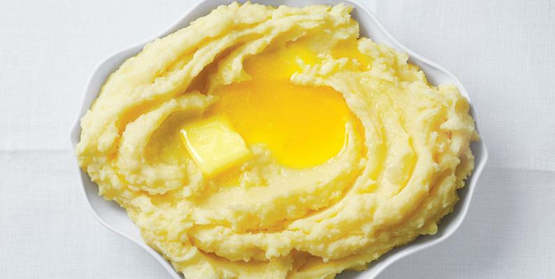 Teoretiskt sett kan människan överleva på en diet bestående enbart av potatis och smör.