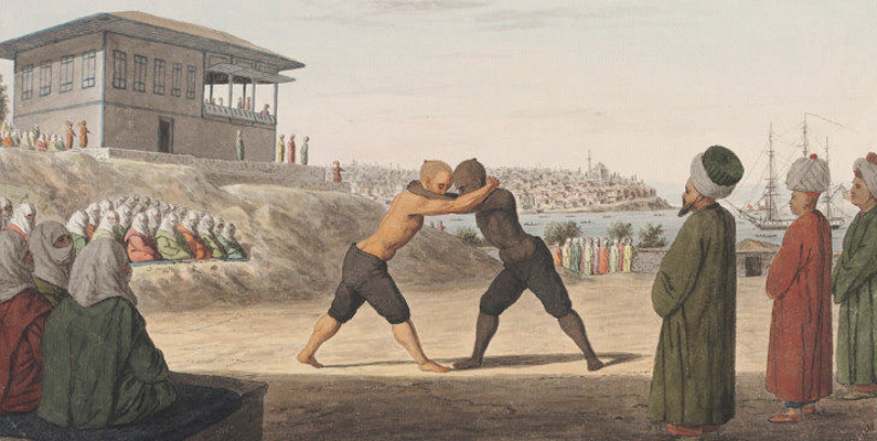I det Osmanska riket var oljebrottning den mest populära sporten. Specialskolor inrättades, som inte bara undervisade brottkonsten, utan också var andliga centrum.