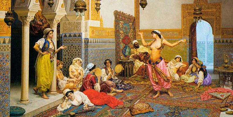Harem var en livlig, social plats och alla kvinnor med alla bakgrunder var välkomna att besöka. Dessa harem fyllde också en praktisk funktion, syftet var att uppfostra flickor på ett kungligt sätt och att förbereda dem för att tjäna som kungliga fruar i framtiden.