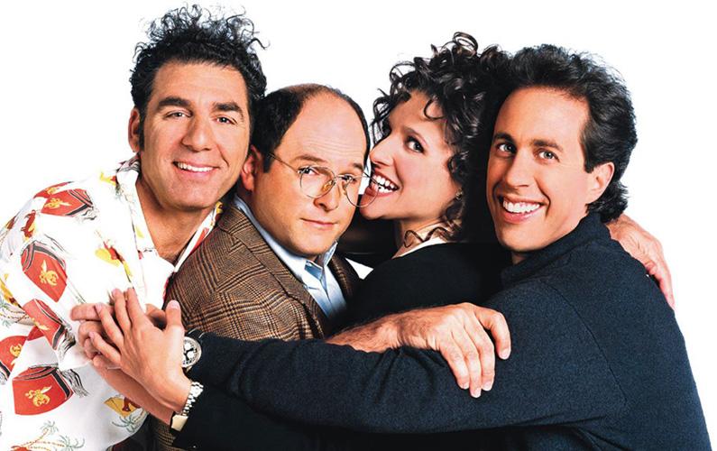 Seinfeld är en amerikansk situationskomedi, skapad av Larry David och huvudrollsinnehavaren Jerry Seinfeld.
