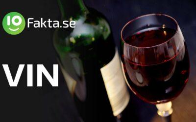 10 fakta du antagligen inte visste om vin
