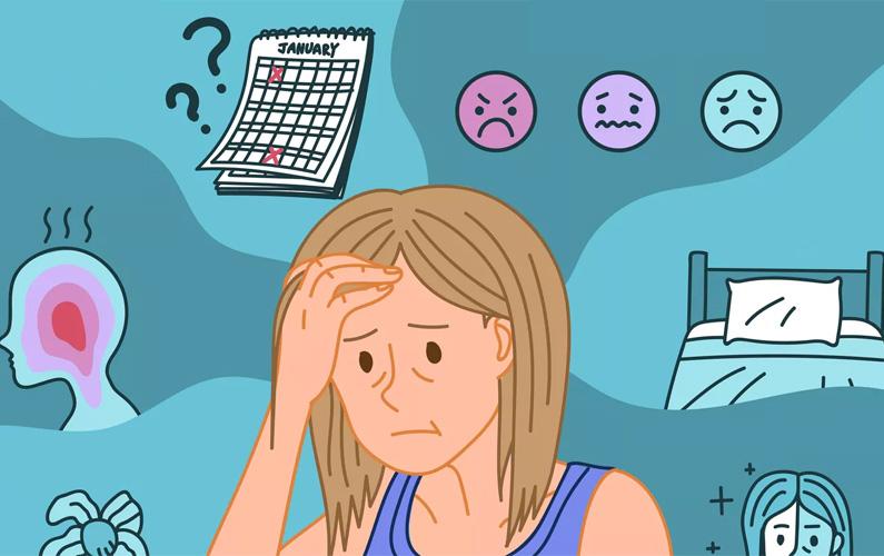 Klimakteriet – övergångsåldern eller perimenopaus (från grekiskans klimakterikos = kritisk) – är den övergångstid som varar något år, då en kvinna övergår från att vara fruktsam till att inte längre få ägglossning, och därmed inte längre kan bli befruktad på den naturliga vägen. Under klimakteriet minskar äggstockarnas produktion av östrogen, vilket får hela det reproduktiva systemet att gradvis stängas av, och äggreserven minskar i storlek. Menstruationerna blir oregelbundna, och upphör så småningom helt.