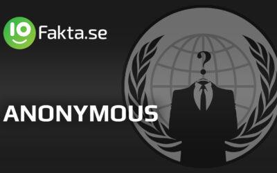 10 fakta du antagligen inte visste om Anonymous